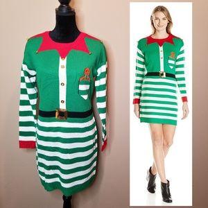 Allison Brittney Santa's Little Helper Tunic Dress